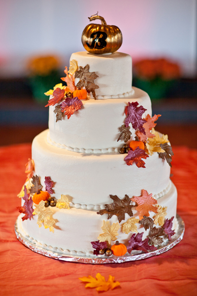wedding cake matrimonio autunnale