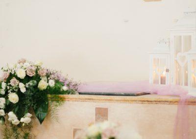 Allestimento Oratorio San Lorenzo Cervia