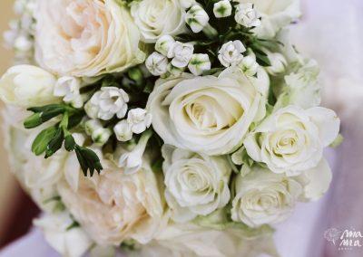 Bouquet rose dettaglio