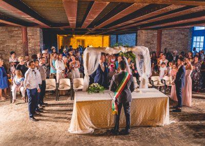 Cerimonia ai Magazzini del Sale - Cervia