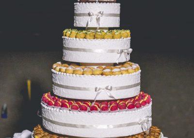 Torta nuziale di mignon